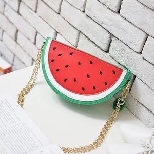 Watermelon crossbody purse